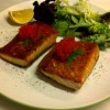 Salmon Fillets with Salad